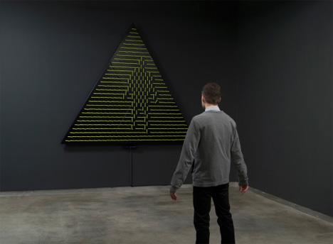 daniel rozin robotic mirrors sculpture