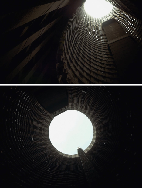dark interior core views
