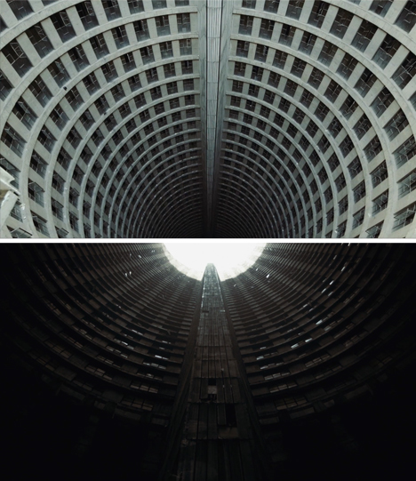 Light Tower Apartment: Dark Tower: Decay Inside Africa's Tallest Apartment