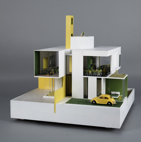 One of a kind dollhouses designed by 20 famous architects for Architecture simple