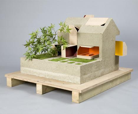 dollhouse concrete modular inserts