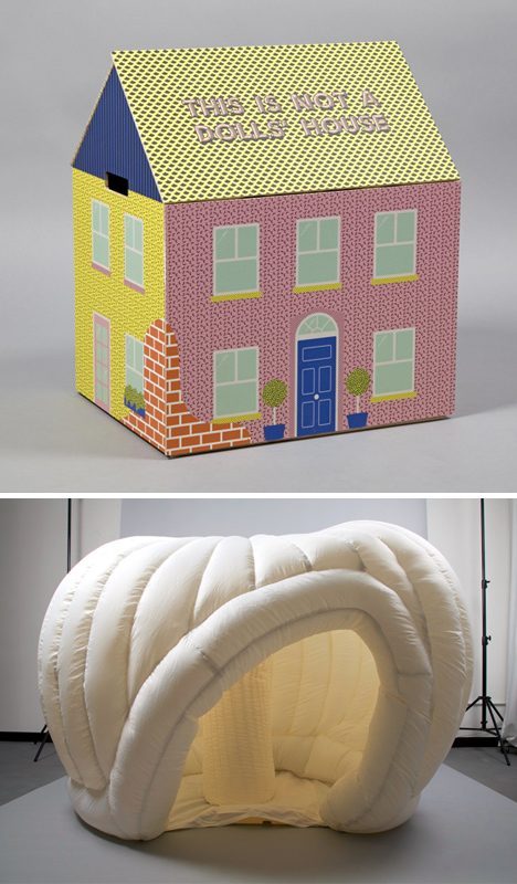 dollhouse inflatable playspace surprise