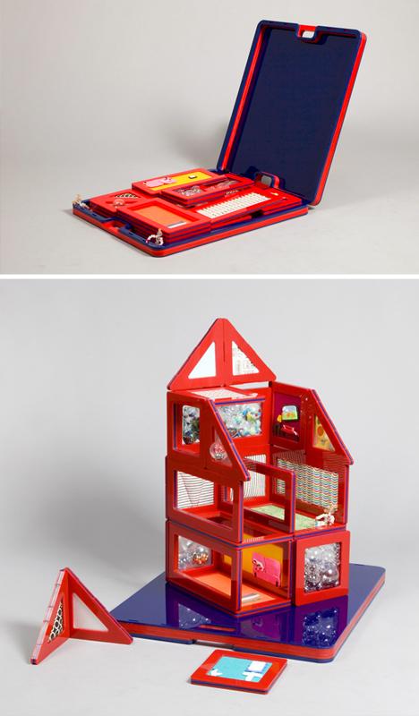 Dollhouse Portable Flat Pack