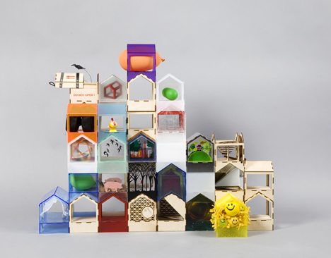 dollhouse stackable room variants