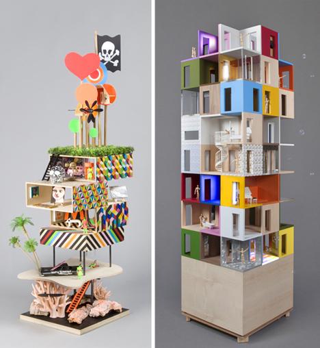 dollhouse tower designs