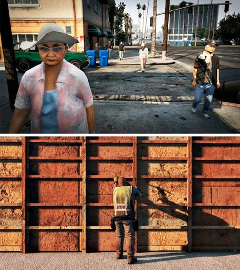 grand theft street art