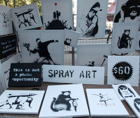 real banksy art sale