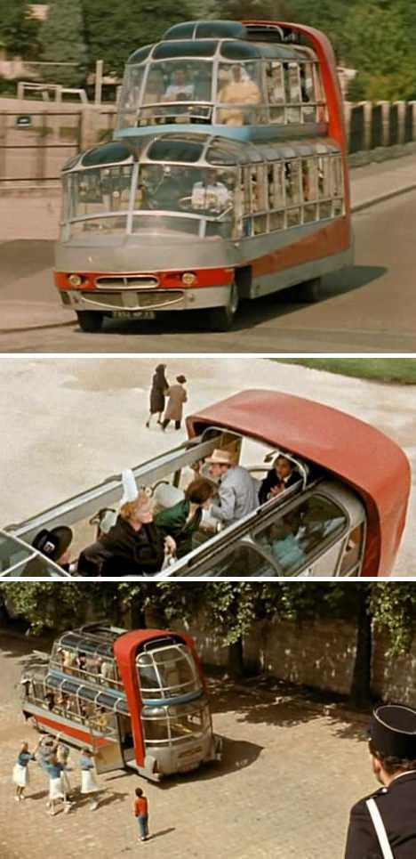 Citroen U55 Cityrama Currus Paris 1960