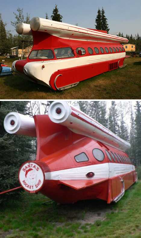Santa's Rocket Ship