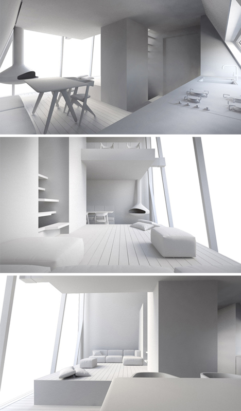 treehouse interior design model