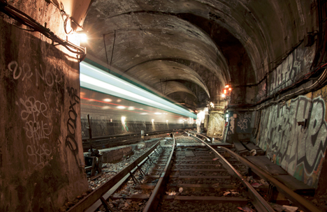 urban subway tunnel