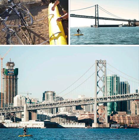 water bike bay commute