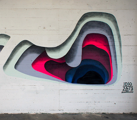 Shadowy secrets colorful layering creates trick 3d murals for 3d mural painting