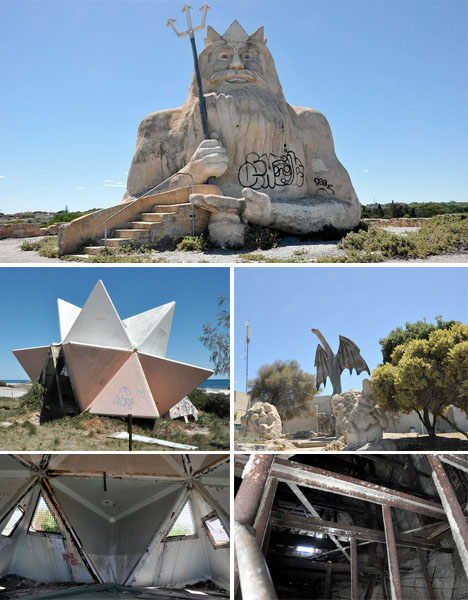 Abandoned Australia Atlantis Marine Park
