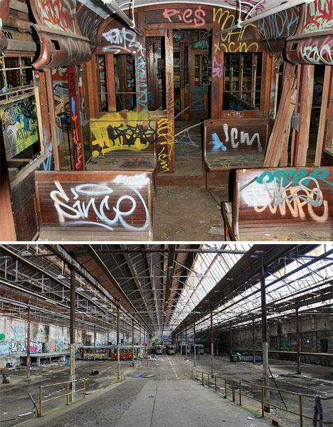 Abandoned Australia Rozelle Tram Depot 2