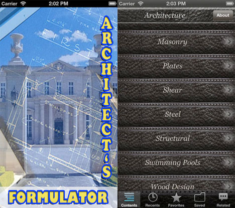 Architect Apps ARchitects Formulator