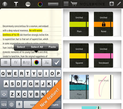 Architect Apps Moleskine