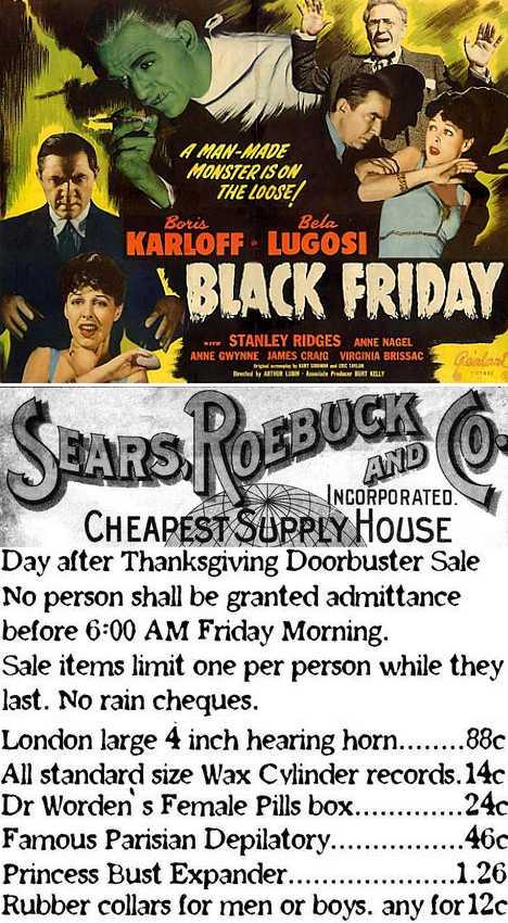 Black Friday history