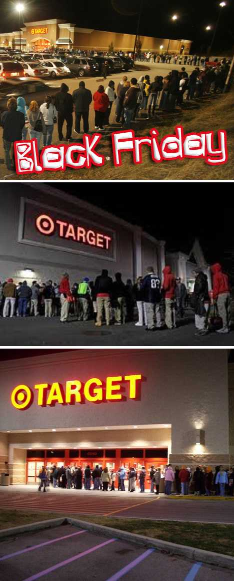 Black Friday lineup Target