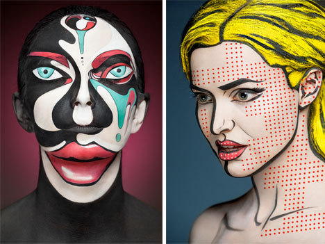 Body Paint 2D Illusion 1