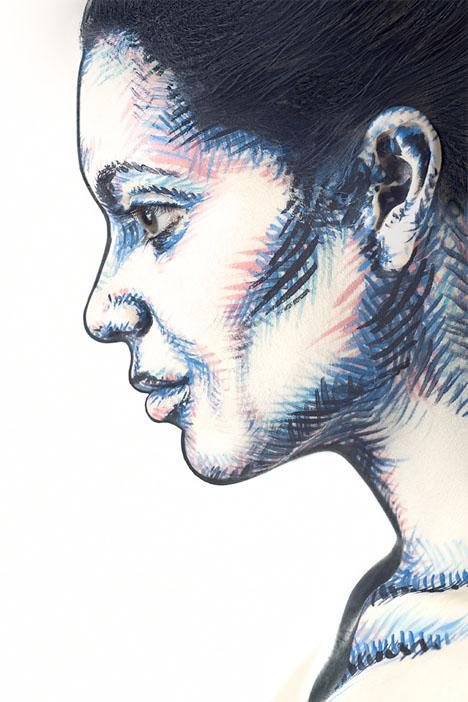 Body Paint 2D Illusion 2