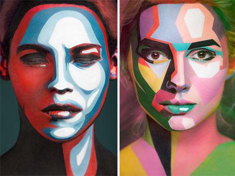 Body Paint 2D Illusion 3