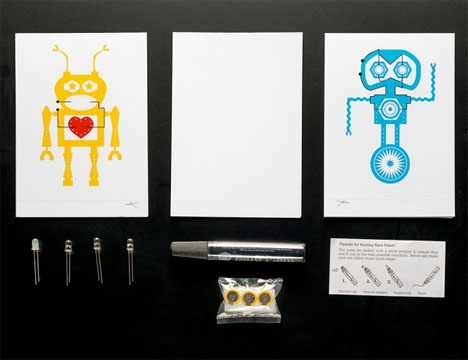 Conductive Design Greeting Cards