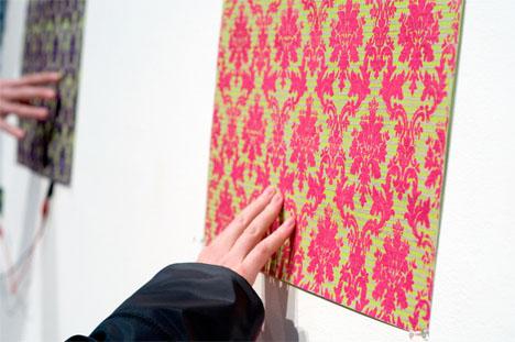 Conductive Design Interactive Wallpaper