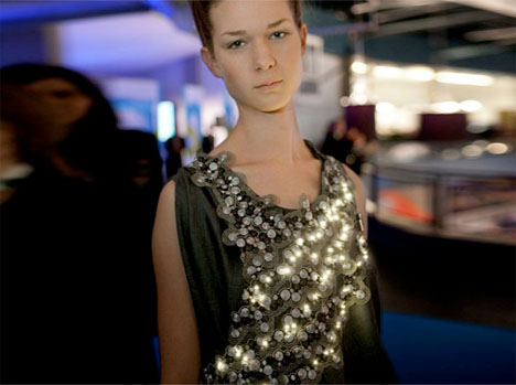 Conductive Design LED Dress