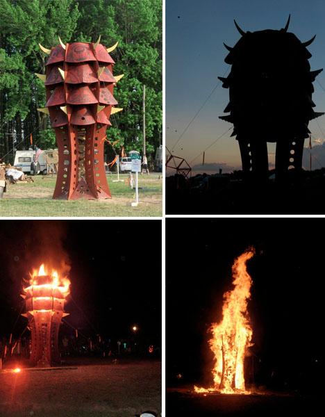 Fire Art Beacon Quentin Davis