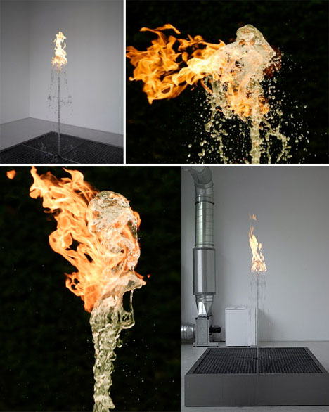 Fire Art Jeppe Hein