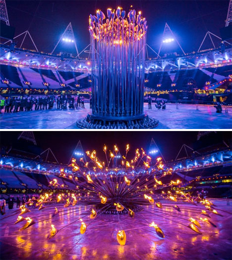 Fire Art Olympic Cauldron