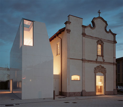 Secular Conversion Historic Chapel Turned Modern Library