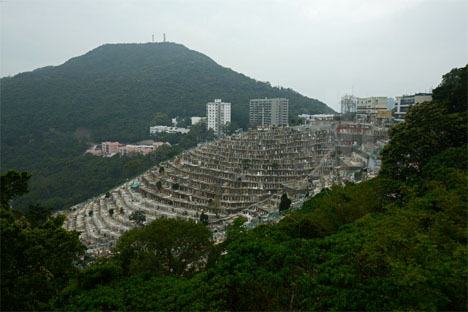 Hong Kong Hillside Cemeteries 2