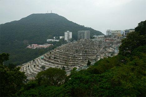 Hong Kong Hillside Cemeteries 2