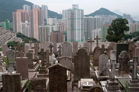 Hong Kong Hillside Cemeteries 4