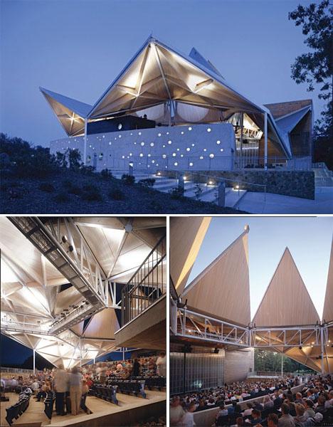 Origami Architecture Bengt Sjostrom