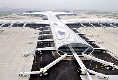 Shenzen Airport Manta Ray 1