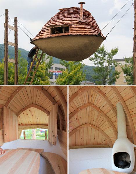 The art of tranquility 14 modern tea house designs urbanist - Modern architectural trio ...