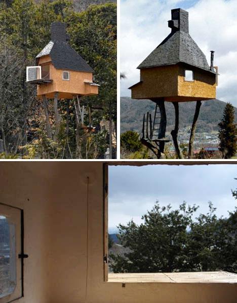 The art of tranquility 14 modern tea house designs urbanist for Modern house on stilts