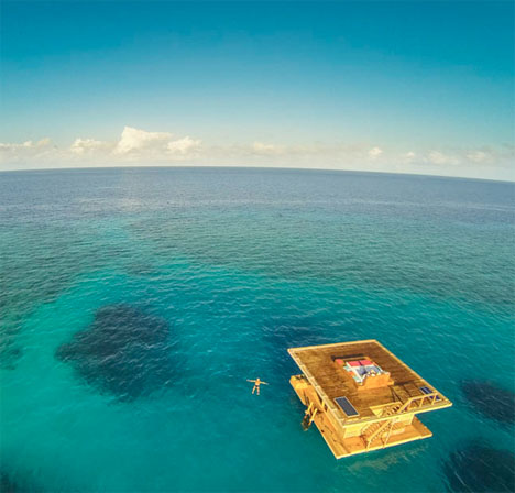 Underwater Hotel Room Manta Resort 2