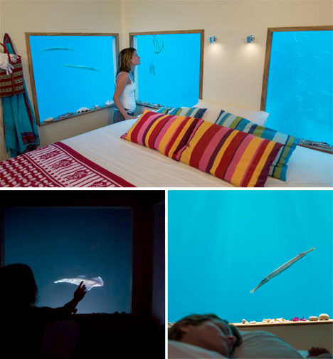 Underwater Hotel Room Manta Resort 5