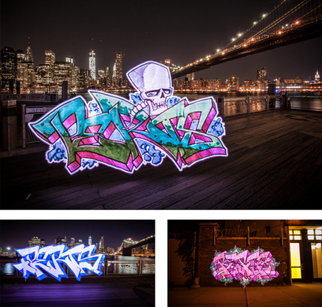 animated graffiti tags