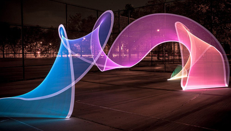 animated light art stick