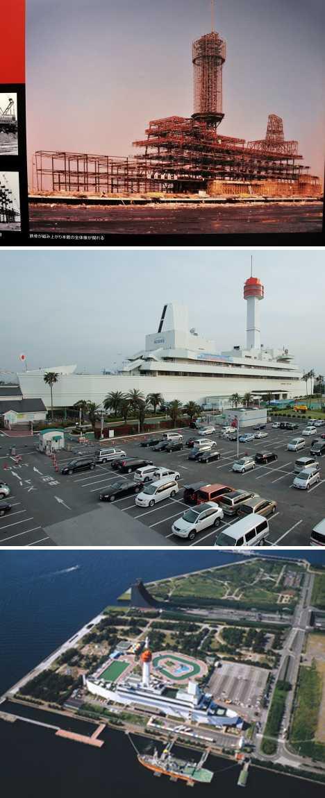 Museum of Maritime Science ship building Tokyo Japan