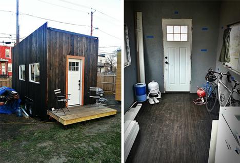 Boneyard Studios Vacant Lot Hosts New Micro Home Village