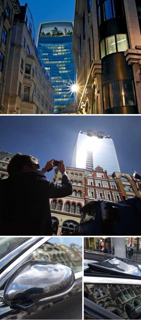Walkie Talkie building 20 Fenchurch London