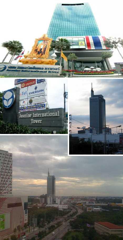 Jasmine International Tower Bangkok Thailand