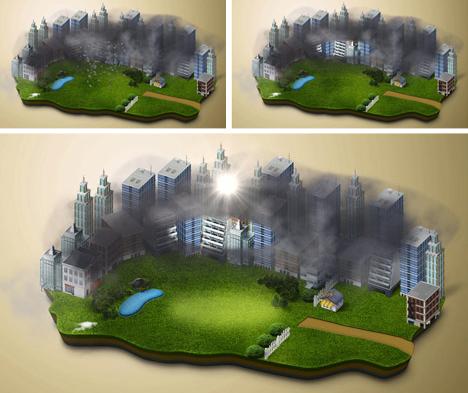 clean air process diagram