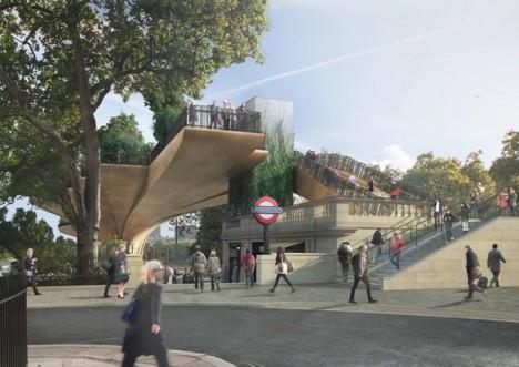 green park platform london
